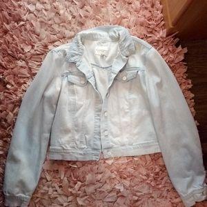 Jessica Simpson denim jacket